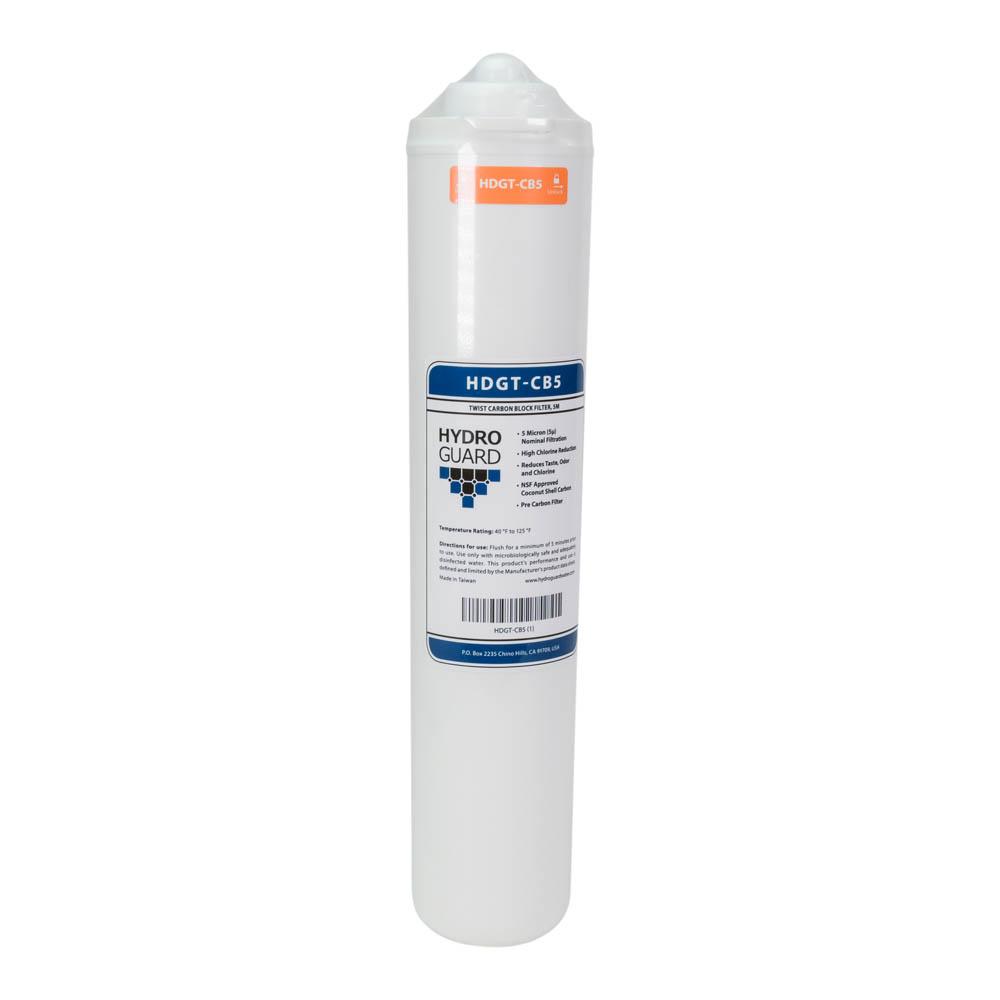Hydroguard HDGT-CB5 Twist-In Carbon Block Pre-Filter