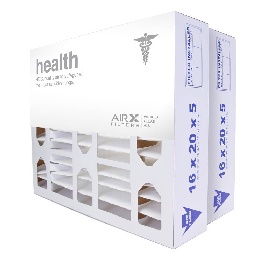 16x20x5 AIRx ALLERGY Honeywell FC100A1003 Replacement Air Filter - MERV 11, 4-Pack