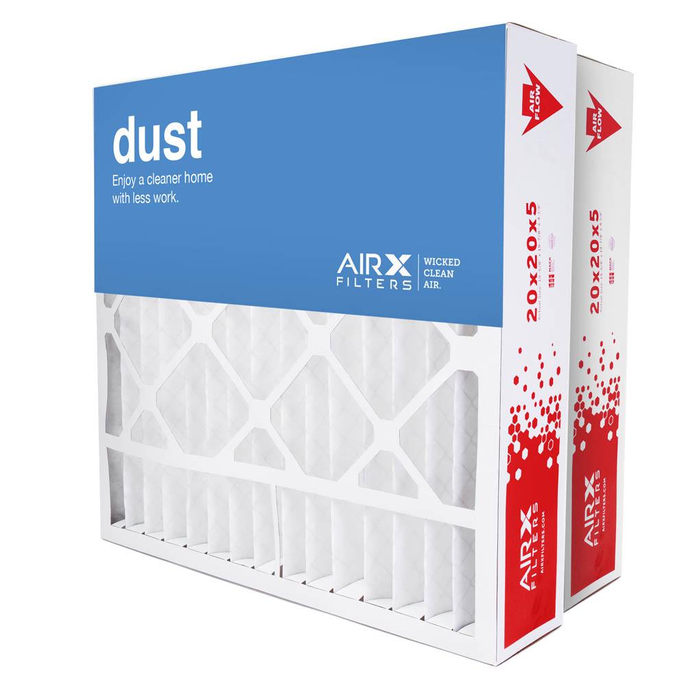 20x20x5 AIRx DUST Replacement for Lennox X0585 Air Filter - MERV 8