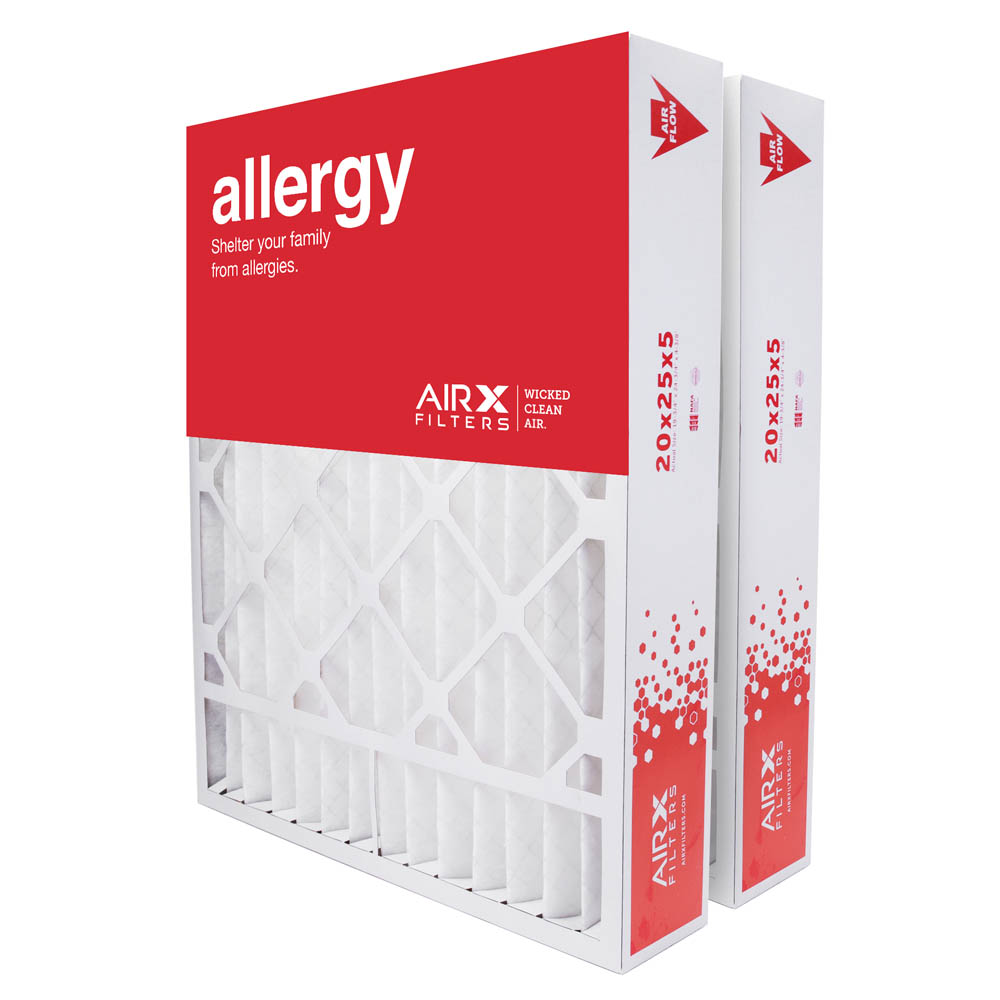 20x25x5 AIRx ODOR Honewell FC100A1037 Replacement Air Filter - Carbon