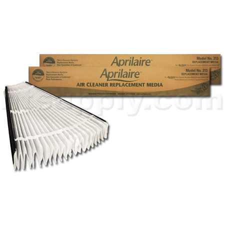 Aprilaire #213 MERV 13 Replacement Filter, 2-Pack