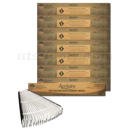 Aprilaire / Space-Gard #213 MERV 13 Replacement Filter - 8 Pack