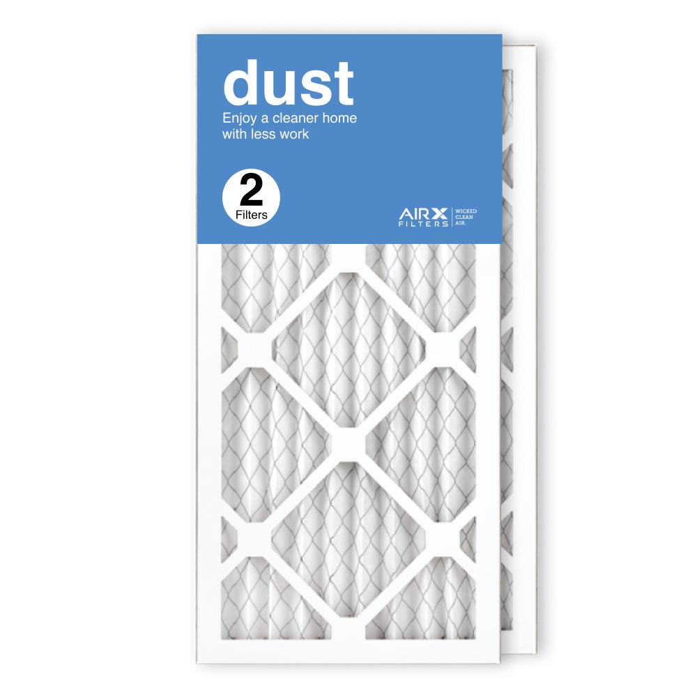 10x20x1 AIRx DUST Air Filter, 2-Pack