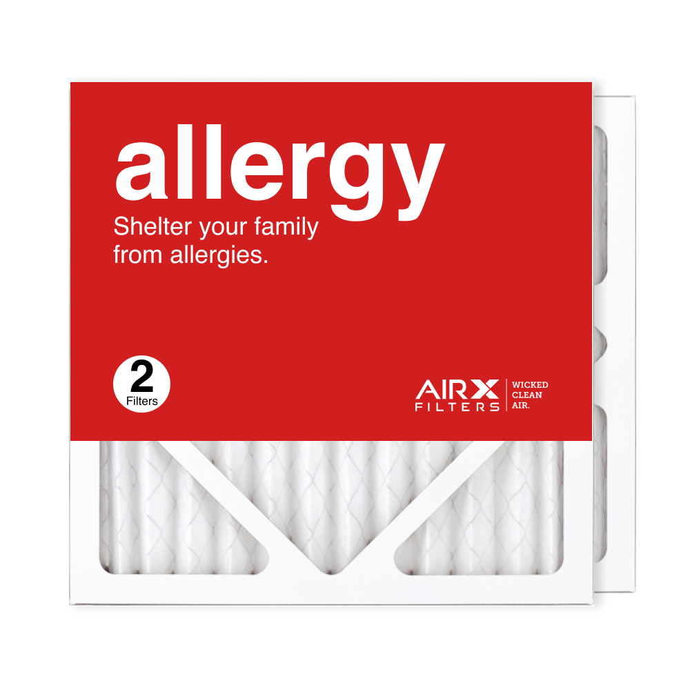 12x12x1 AIRx ALLERGY Air Filter, 2-Pack