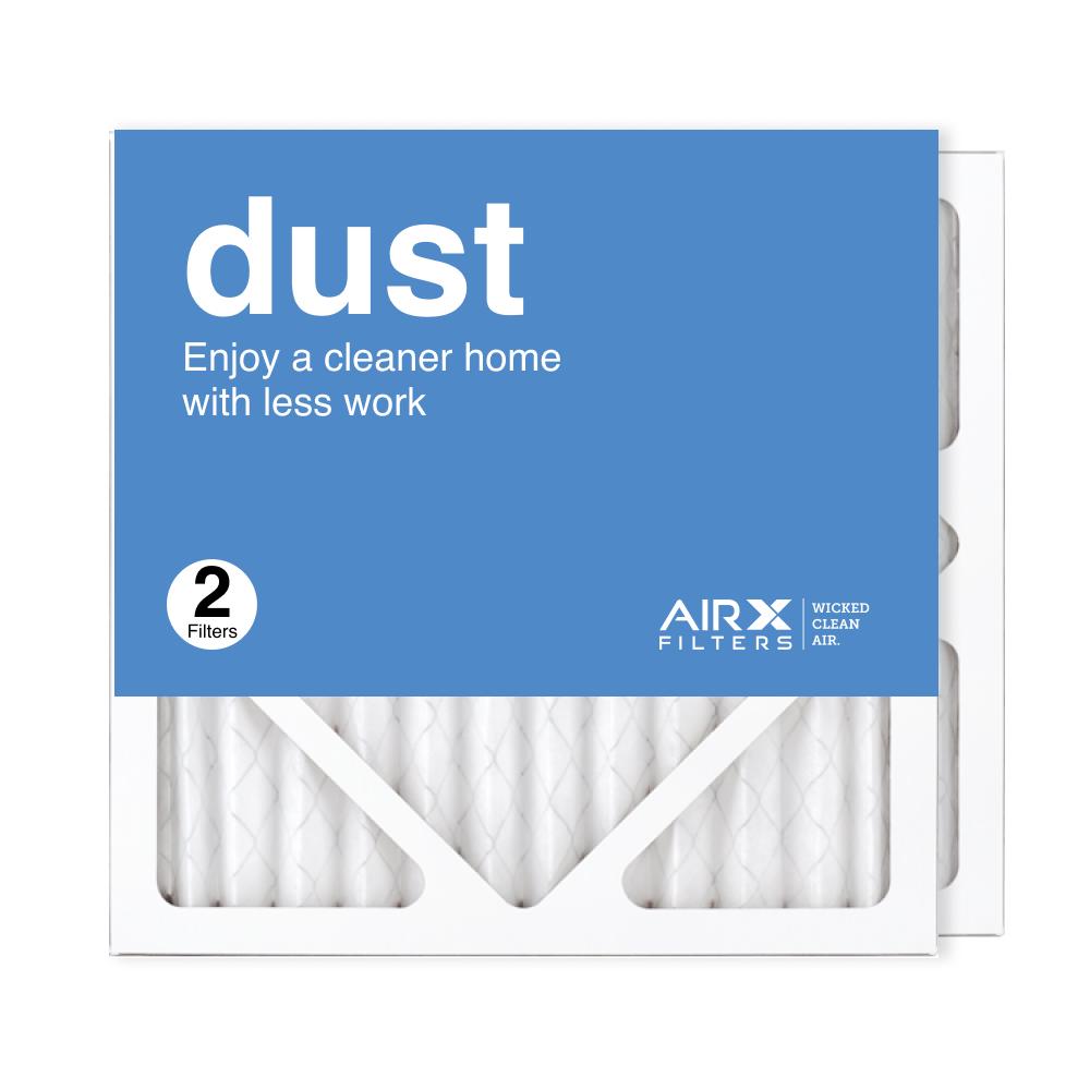 12x12x1 AIRx DUST Air Filter, 2-Pack