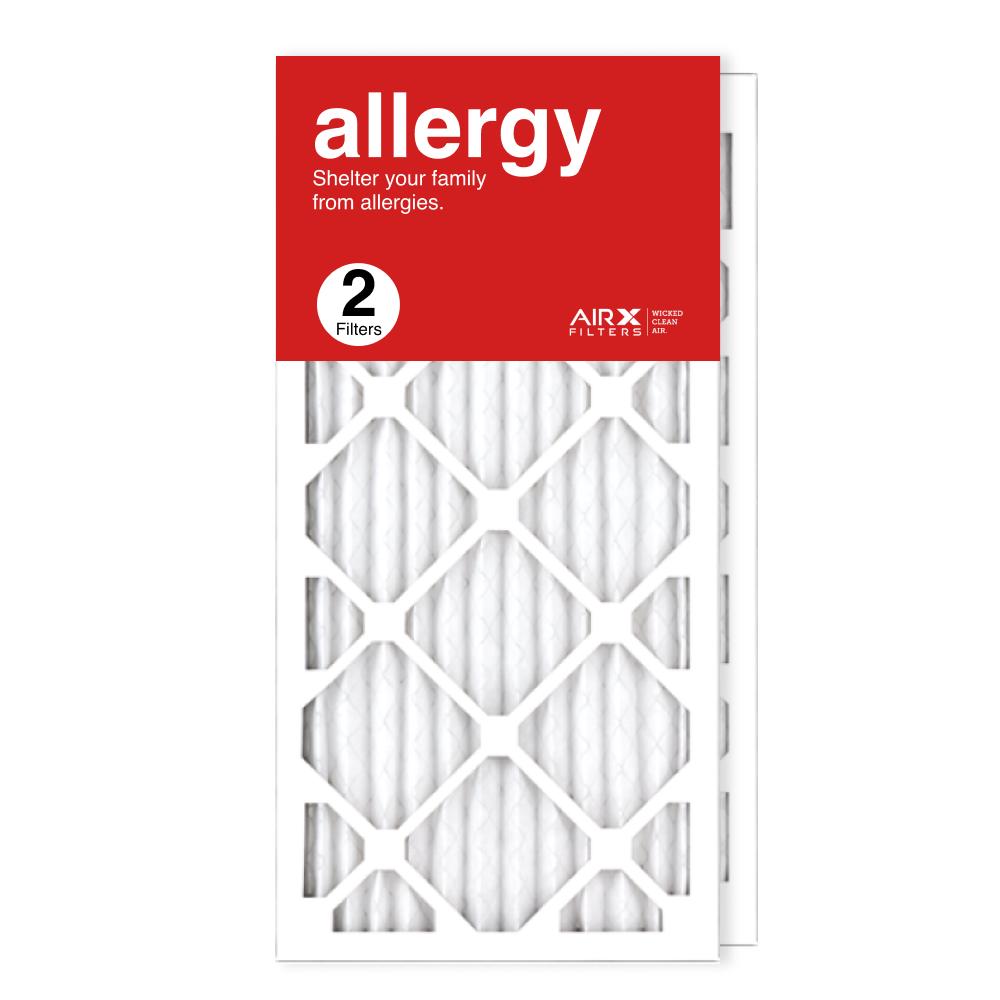 12x25x1 AIRx ALLERGY Air Filter, 2-Pack