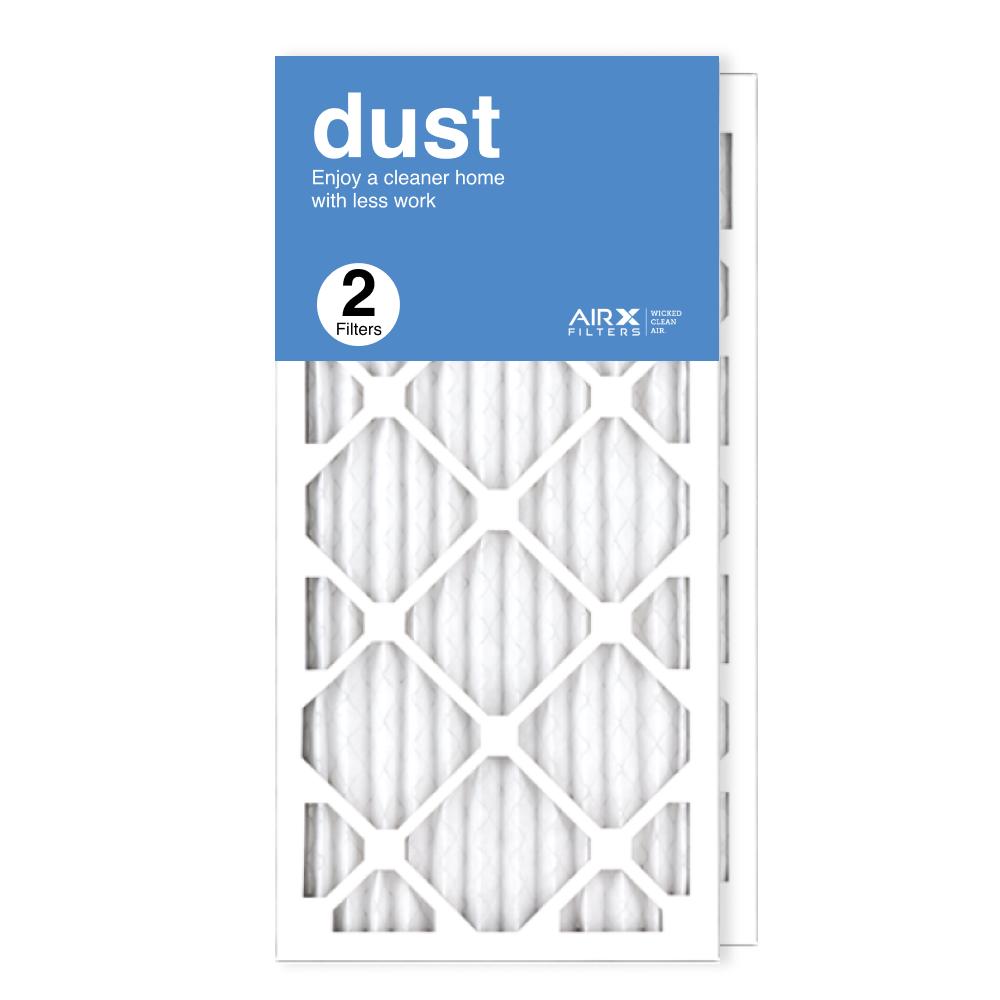 12x25x1 AIRx DUST Air Filter, 2-Pack