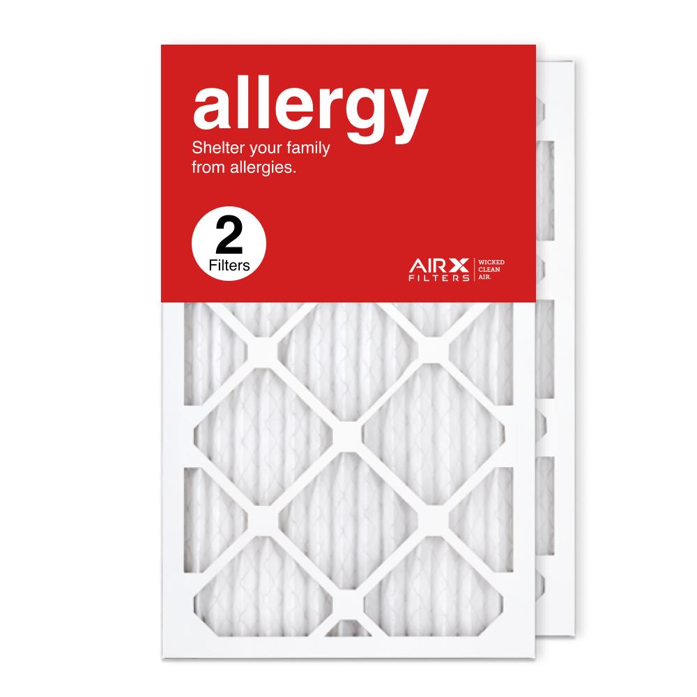 13x21.5x1 AIRx ALLERGY Air Filter, 2-Pack