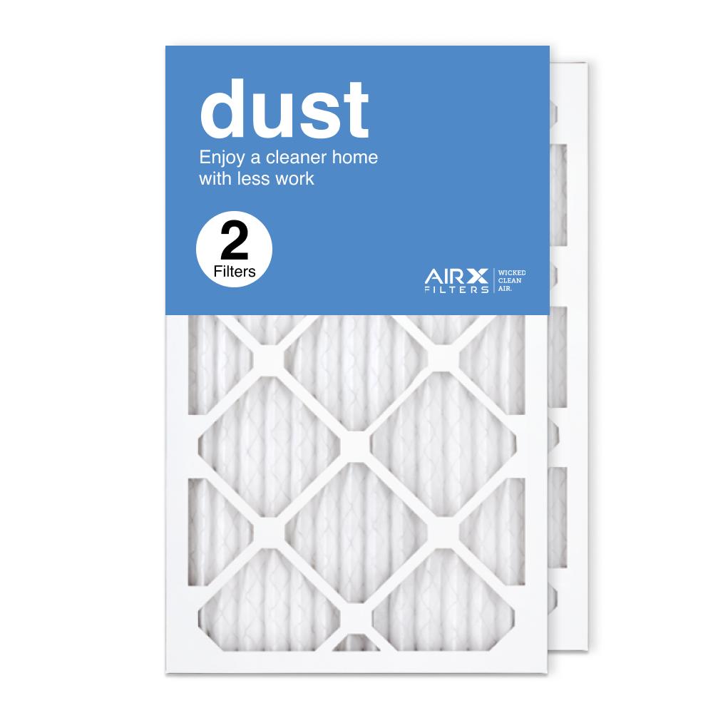 13x21.5x1 AIRx DUST Air Filter, 2-Pack