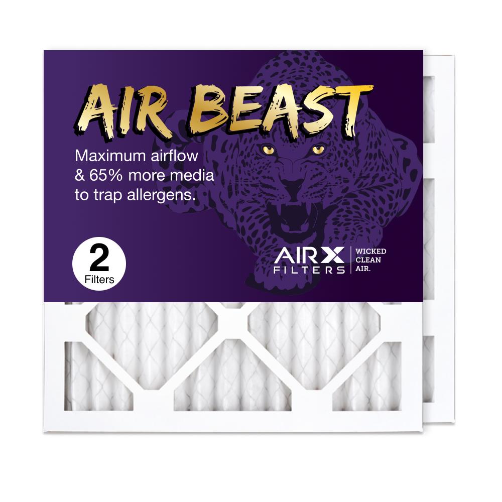 14x14x1 AIRx Air Beast High Flow Air Filter, 2-Pack
