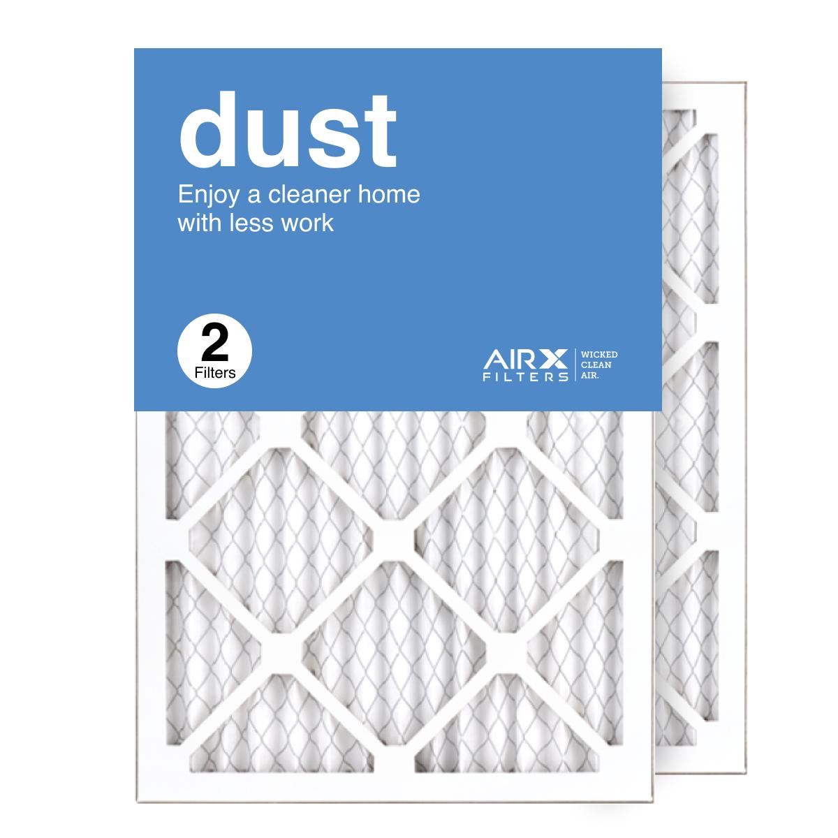 14x20x1 AIRx DUST Air Filter, 2-Pack