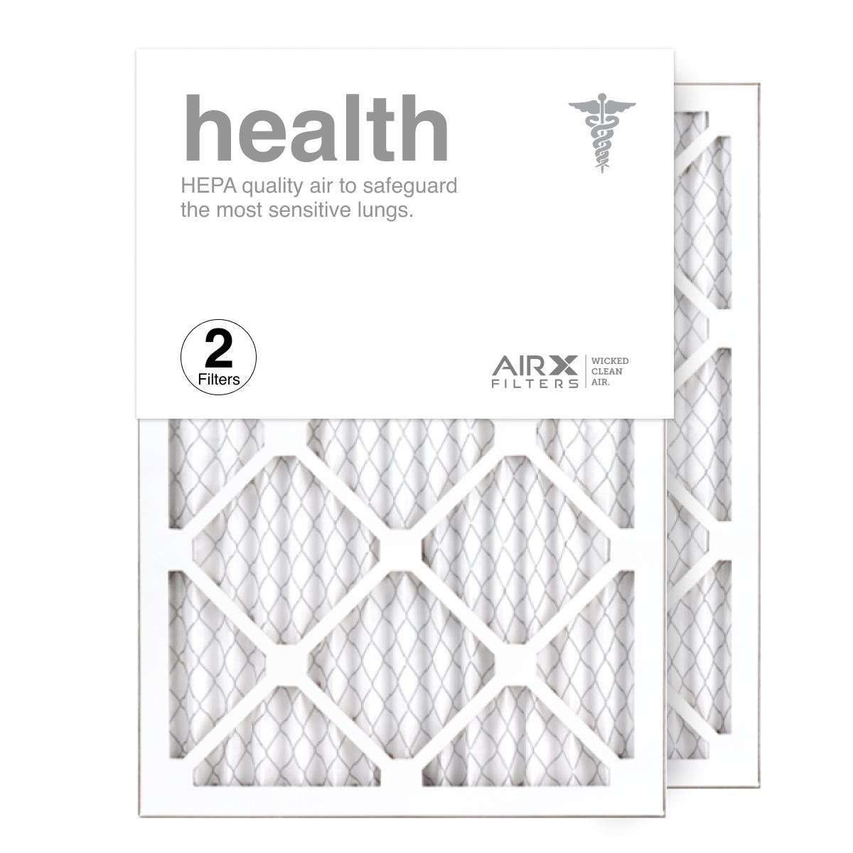 14x20x1 AIRx HEALTH Air Filter, 2-Pack