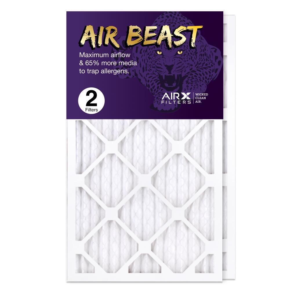 14x25x1 AIRx Air Beast High Flow Air Filter, 2-Pack