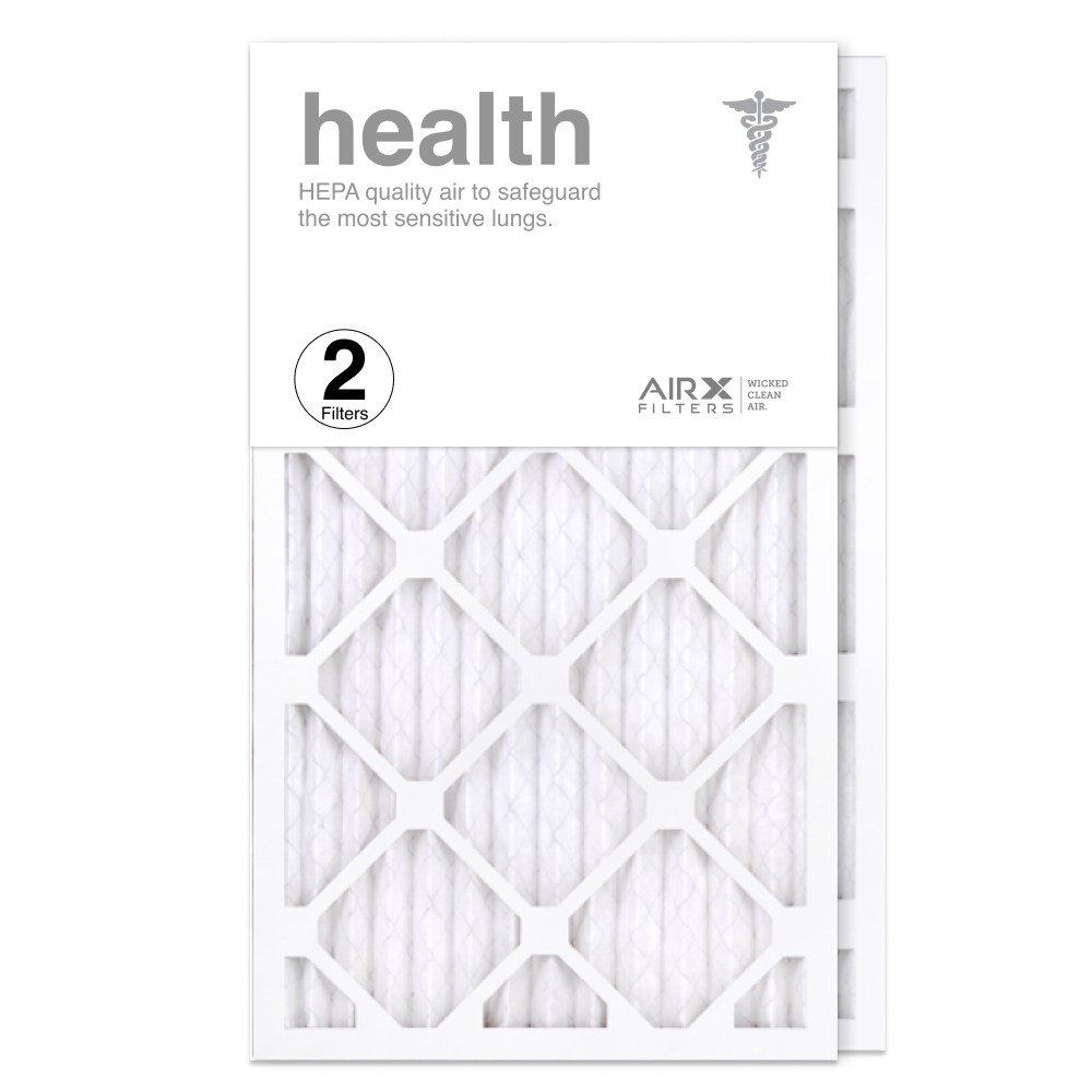 14x25x1 AIRx HEALTH Air Filter, 2-Pack