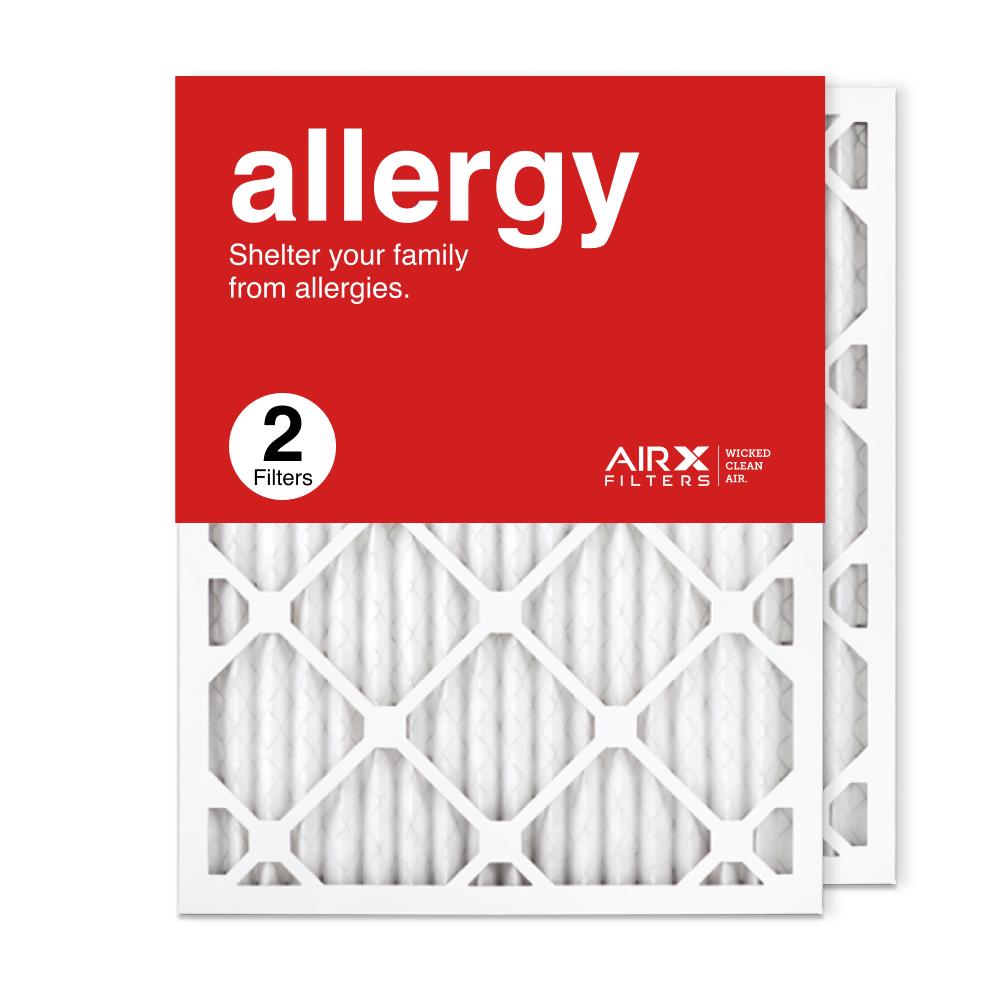 16.375x21.5x1 AIRx ALLERGY Air Filter, 2-Pack