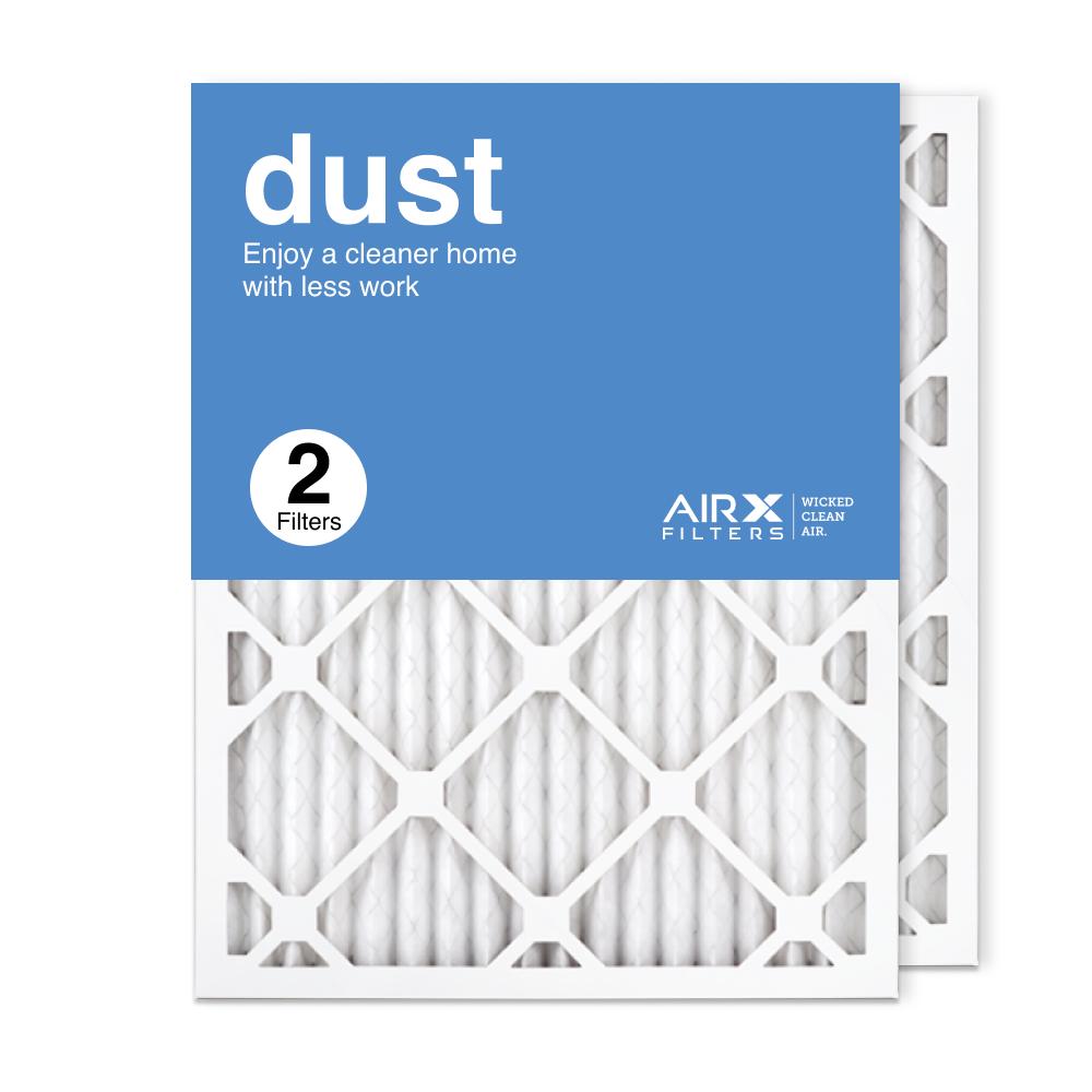 16.375x21.5x1 AIRx DUST Air Filter, 2-Pack