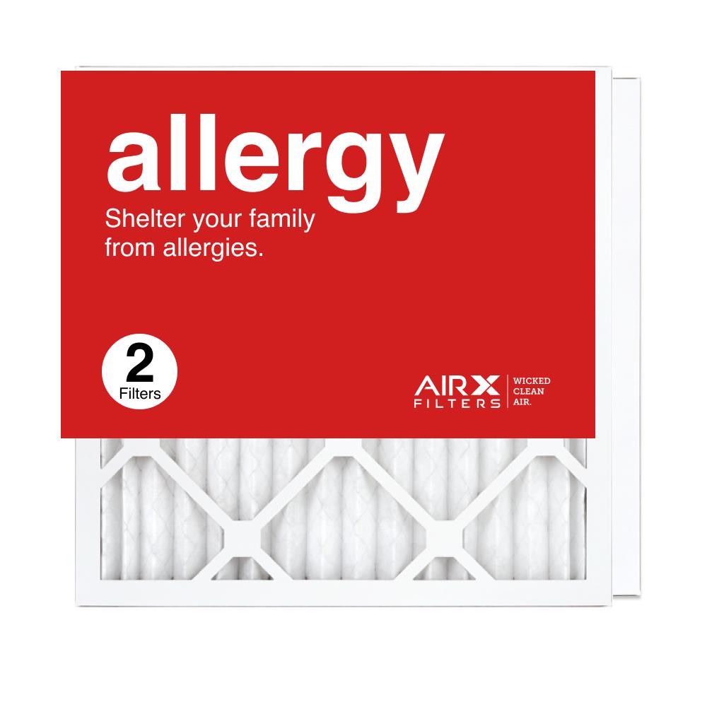16x16x1 AIRx ALLERGY Air Filter, 2-Pack