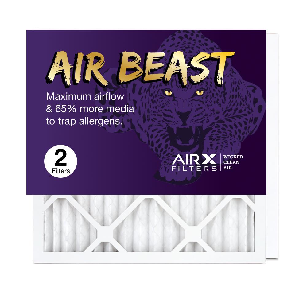 16x16x1 AIRx Air Beast High Flow Air Filter, 2-Pack