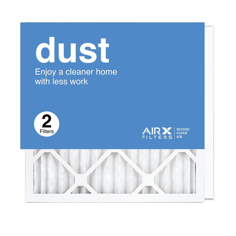 16x16x1 AIRx DUST Air Filter, 2-Pack
