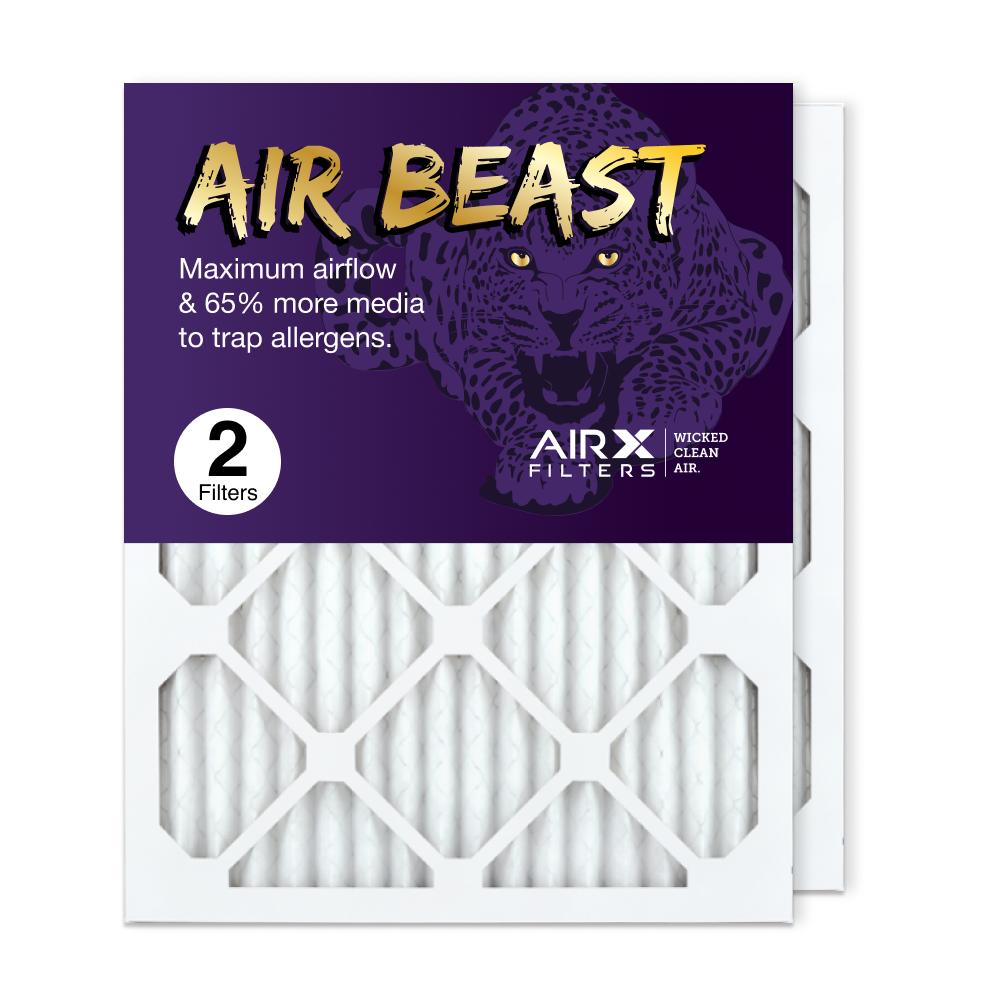 16x20x1 AIRx Air Beast High Flow Air Filter, 2-Pack