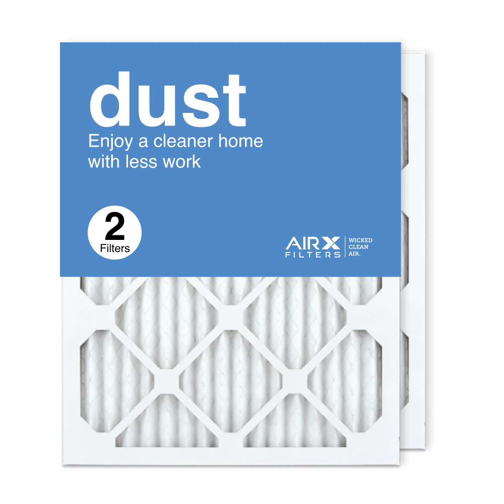 16x20x1 AIRx DUST Air Filter, 2-Pack
