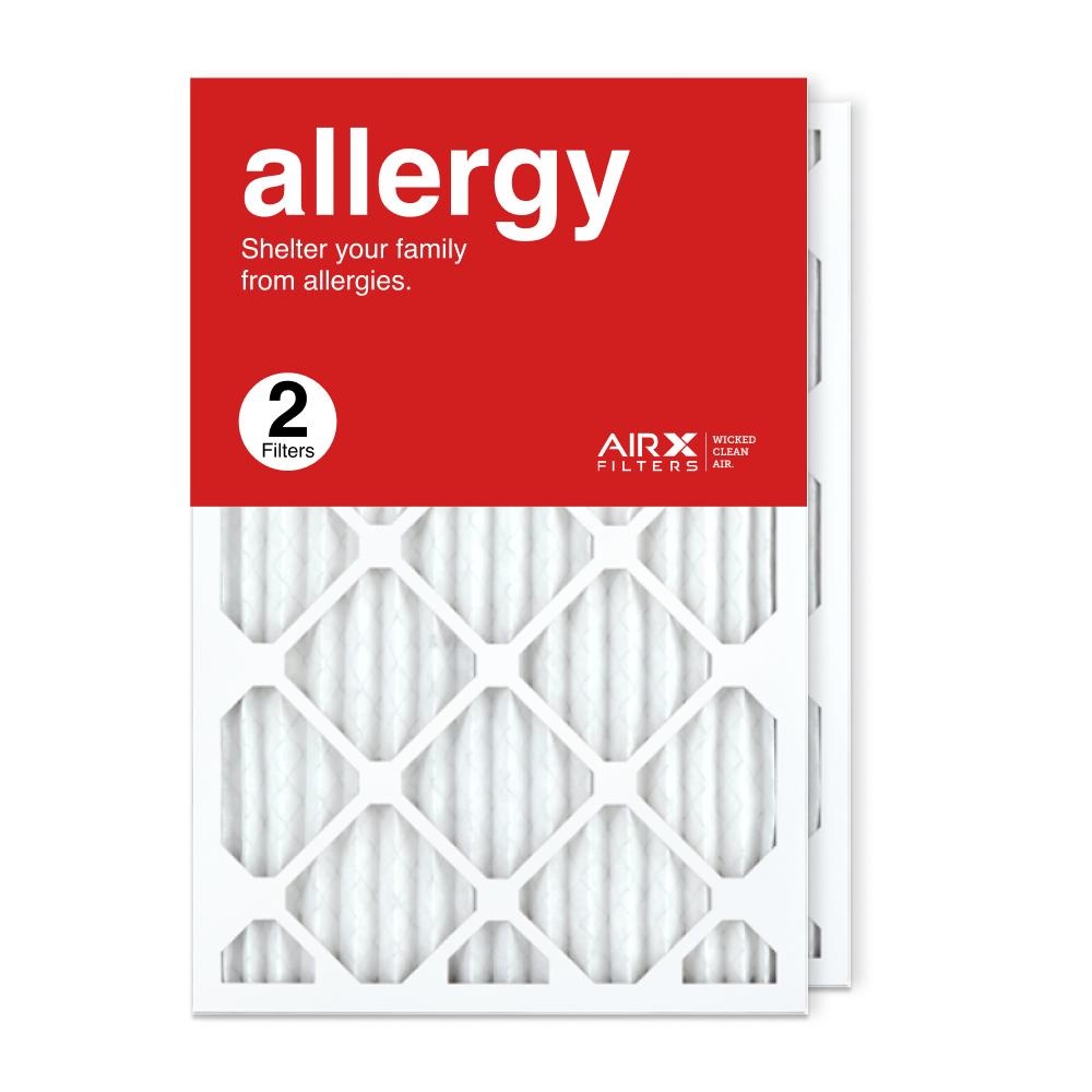 16x25x1 AIRx ALLERGY Air Filter, 2-Pack