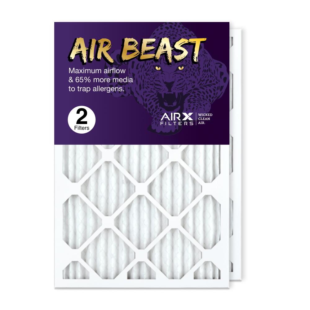 16x25x1 AIRx Air Beast High Flow Air Filter, 2-Pack