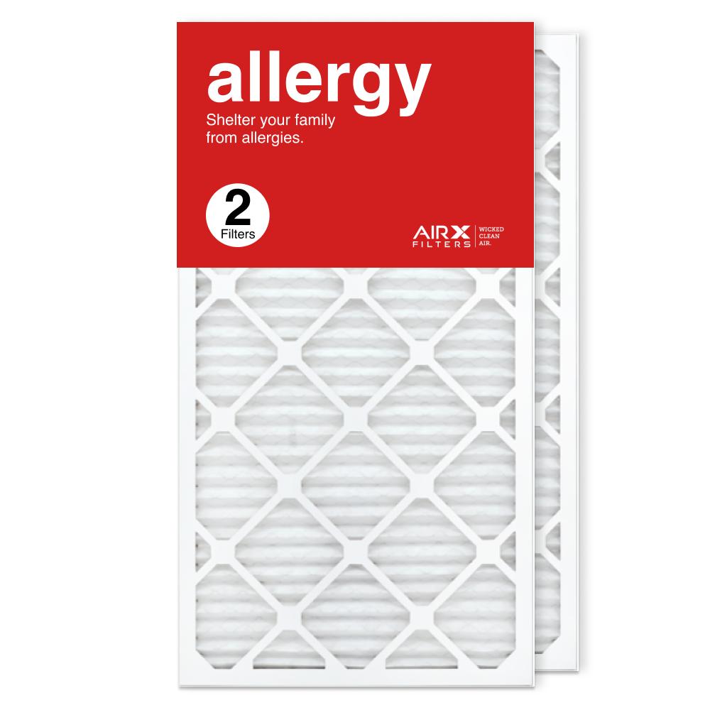 16x30x1 AIRx ALLERGY Air Filter, 2-Pack