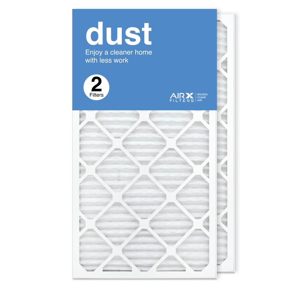 16x30x1 AIRx DUST Air Filter, 2-Pack