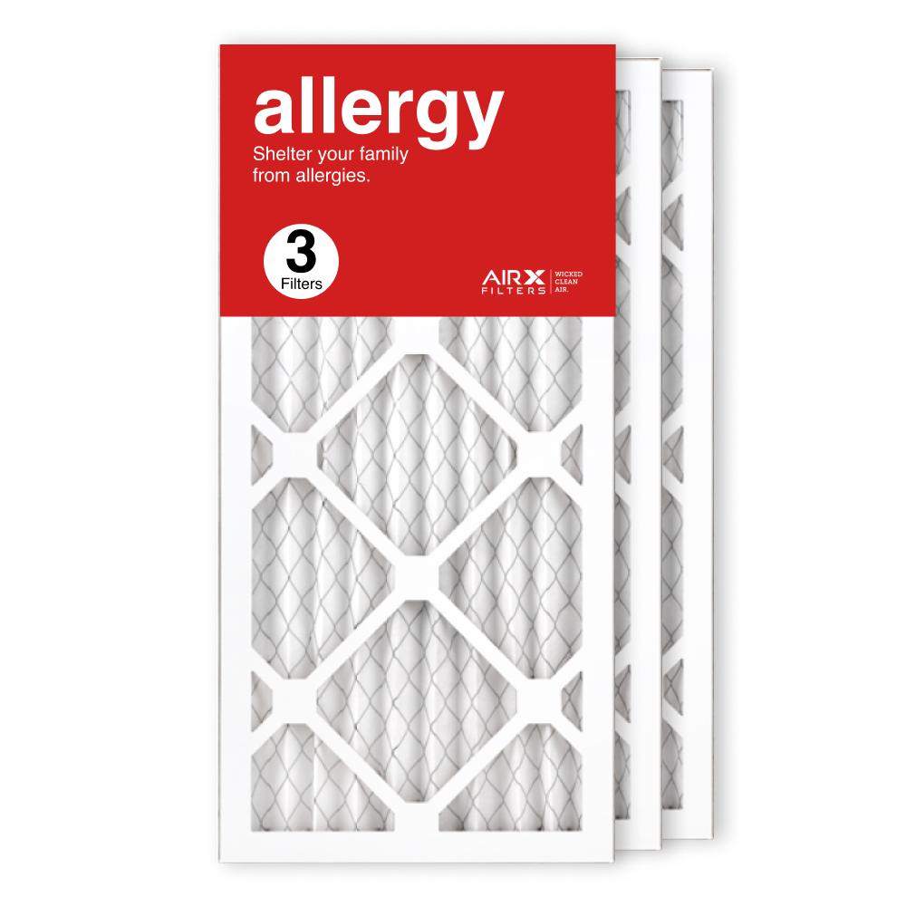 10x20x1 AIRx ALLERGY Air Filter, 3-Pack