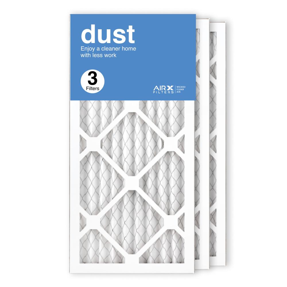 10x20x1 AIRx DUST Air Filter, 3-Pack