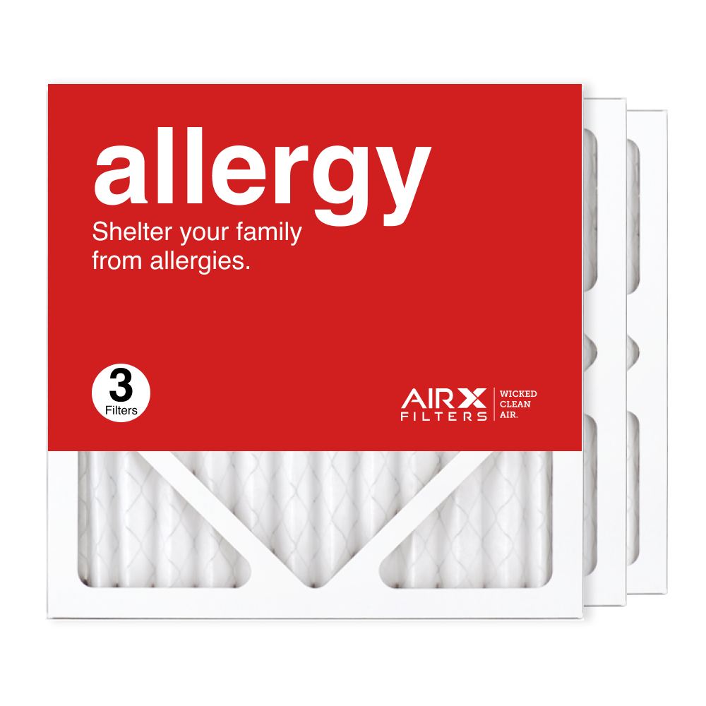 12x12x1 AIRx ALLERGY Air Filter, 3-Pack