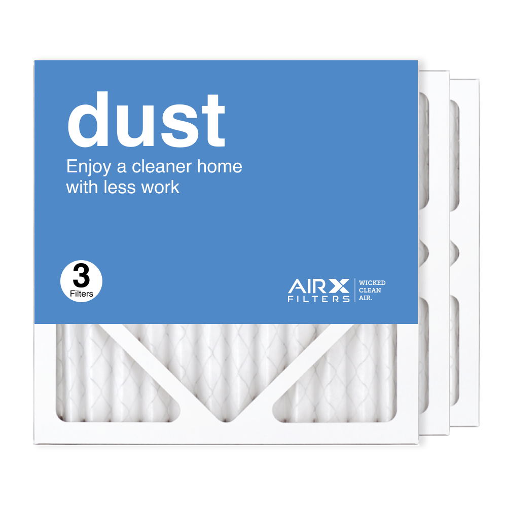 12x12x1 AIRx DUST Air Filter, 3-Pack
