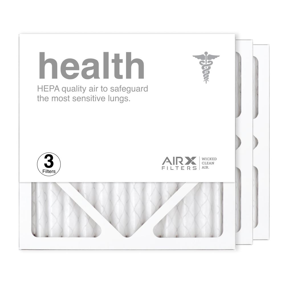 12x12x1 AIRx HEALTH Air Filter, 3-Pack