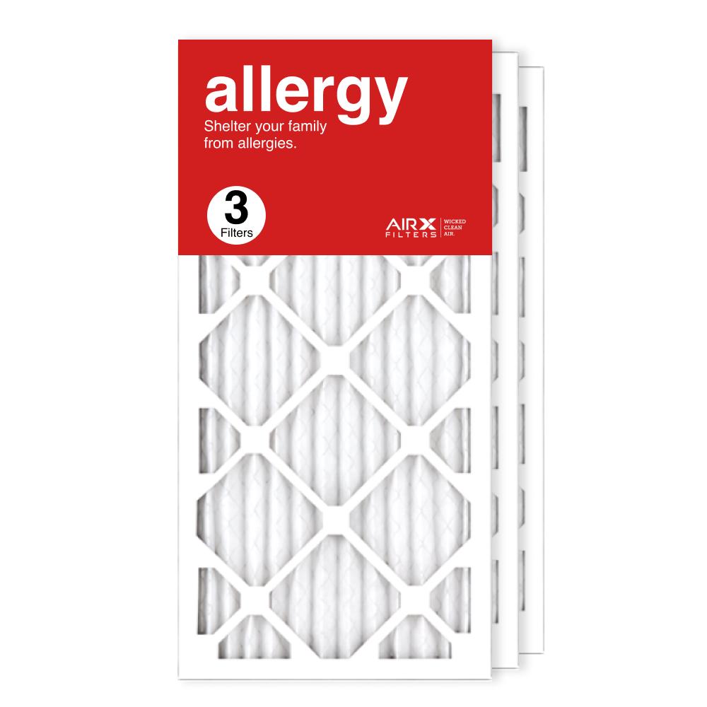 12x25x1 AIRx ALLERGY Air Filter, 3-Pack