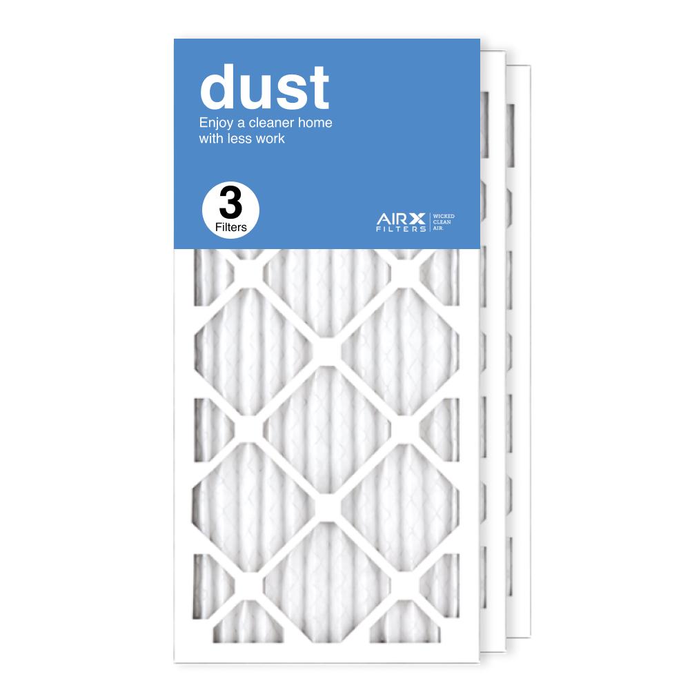 12x25x1 AIRx DUST Air Filter, 3-Pack