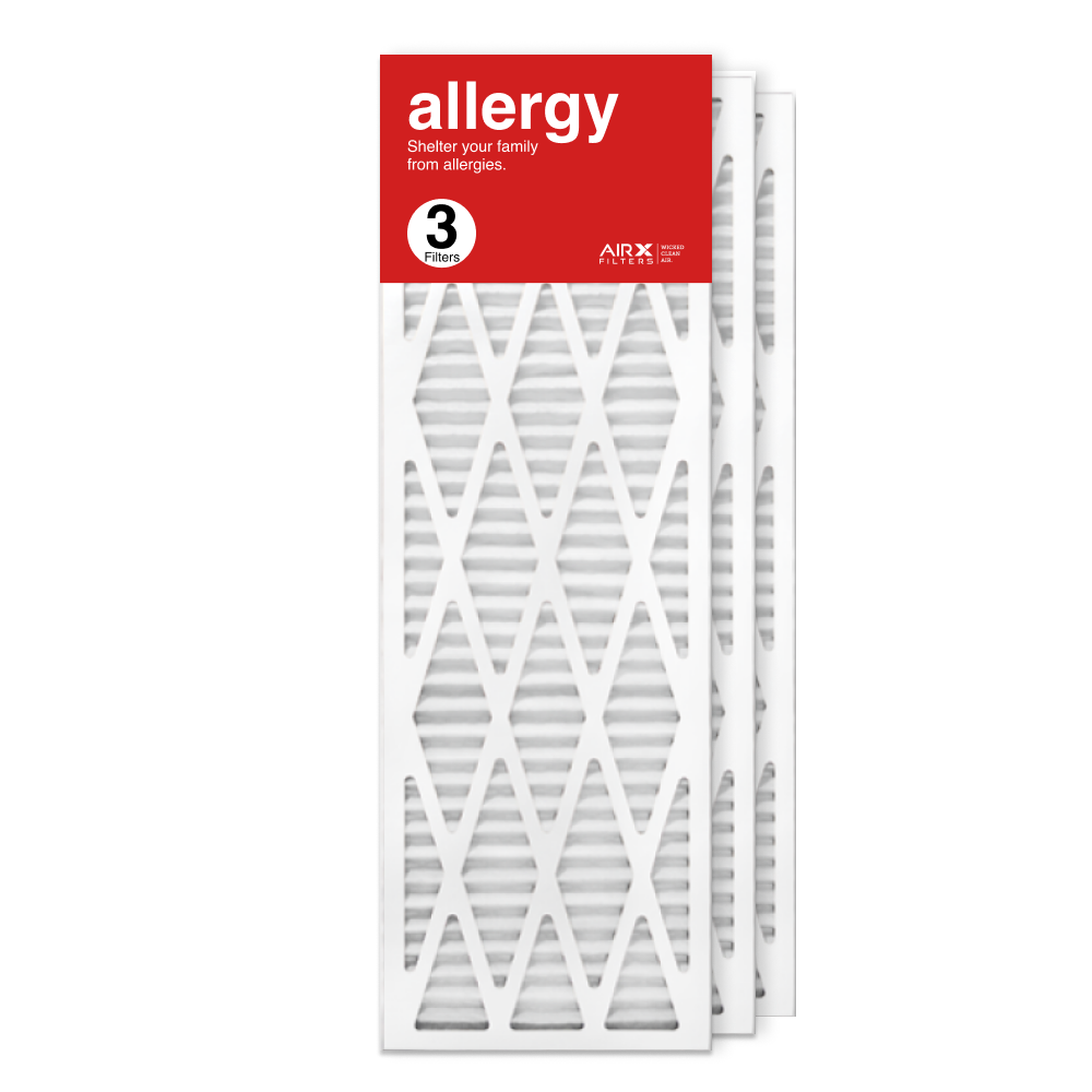 12x36x1 AIRx ALLERGY Air Filter, 3-Pack