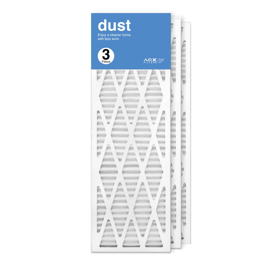 12x36x1 AIRx DUST Air Filter, 3-Pack