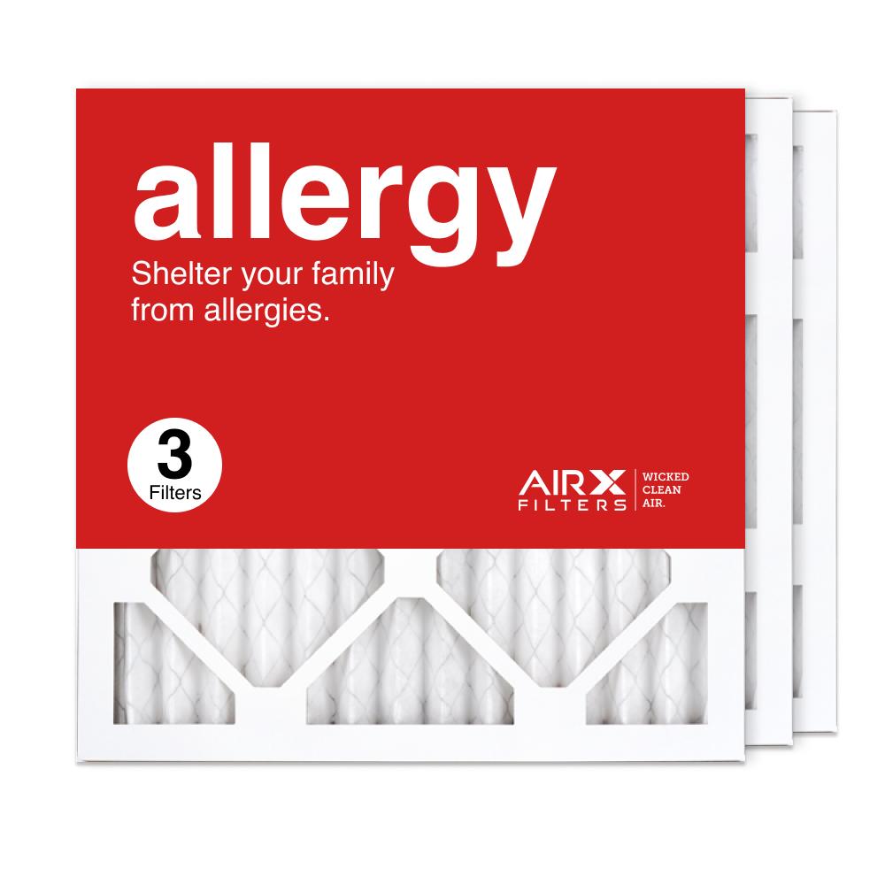 14x14x1 AIRx ALLERGY Air Filter, 3-Pack