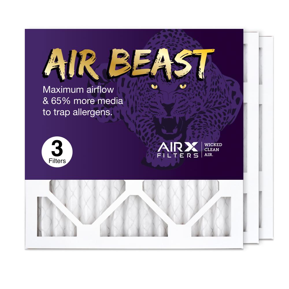 14x14x1 AIRx Air Beast High Flow Air Filter, 3-Pack