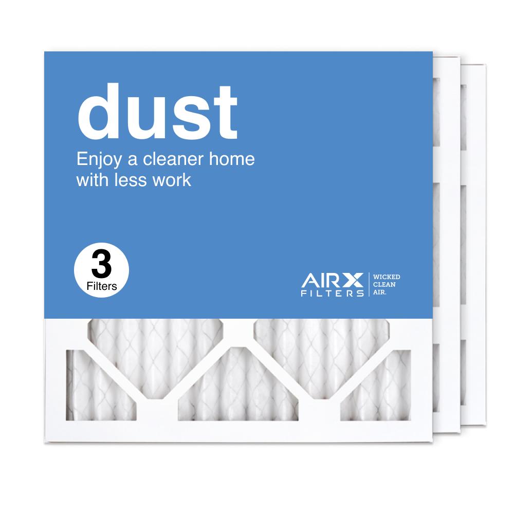 14x14x1 AIRx DUST Air Filter, 3-Pack