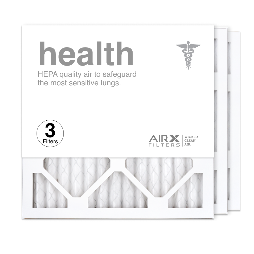 14x14x1 AIRx HEALTH Air Filter, 3-Pack