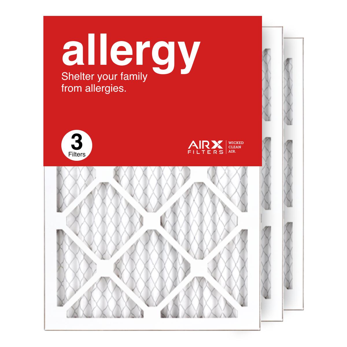 14x20x1 AIRx ALLERGY Air Filter, 3-Pack
