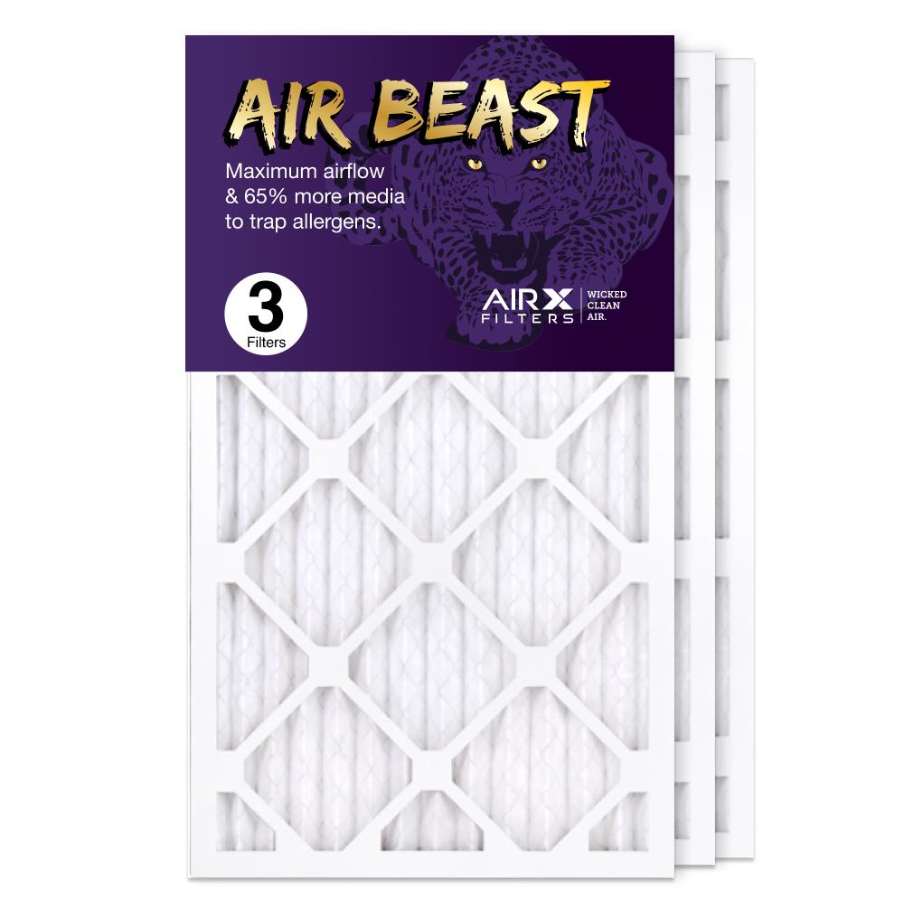 14x24x1 AIRx Air Beast High Flow Air Filter, 3-Pack