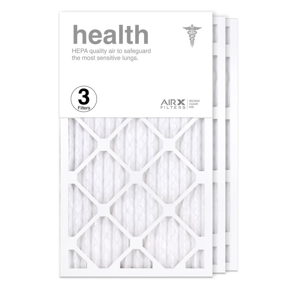 14x24x1 AIRx HEALTH Air Filter, 3-Pack