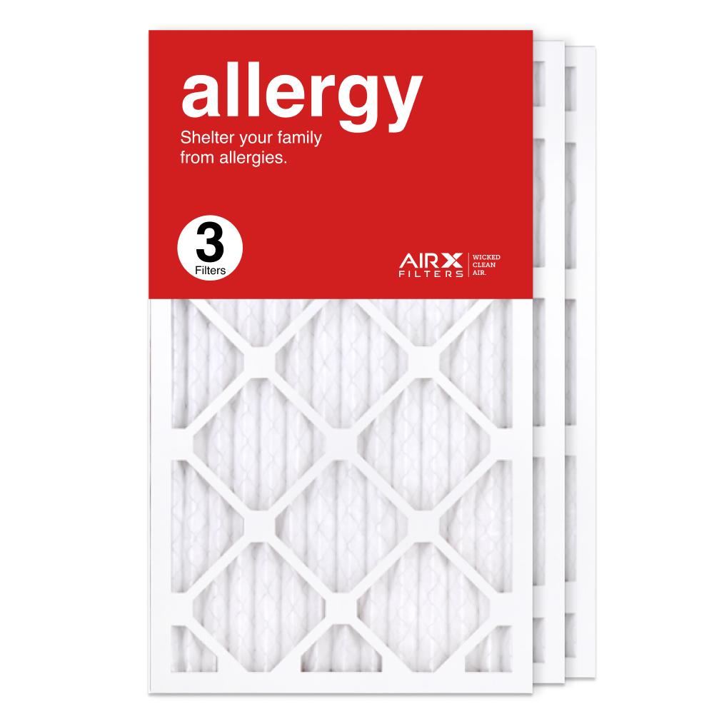 14x25x1 AIRx ALLERGY Air Filter, 3-Pack