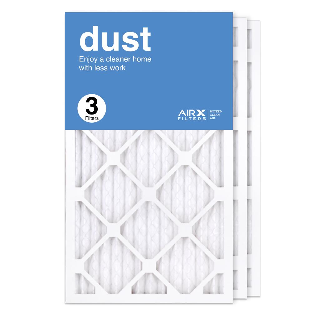 14x25x1 AIRx DUST Air Filter, 3-Pack