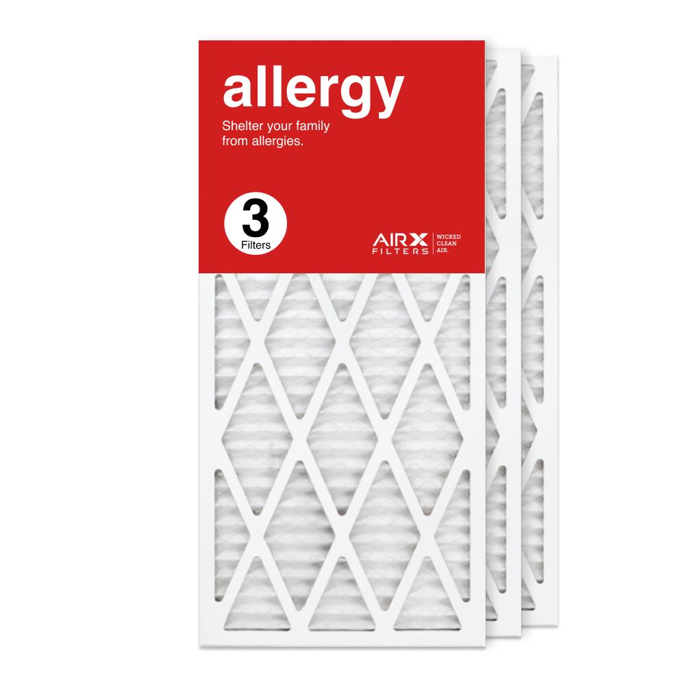 14x30x1 AIRx ALLERGY Air Filter, 3-Pack