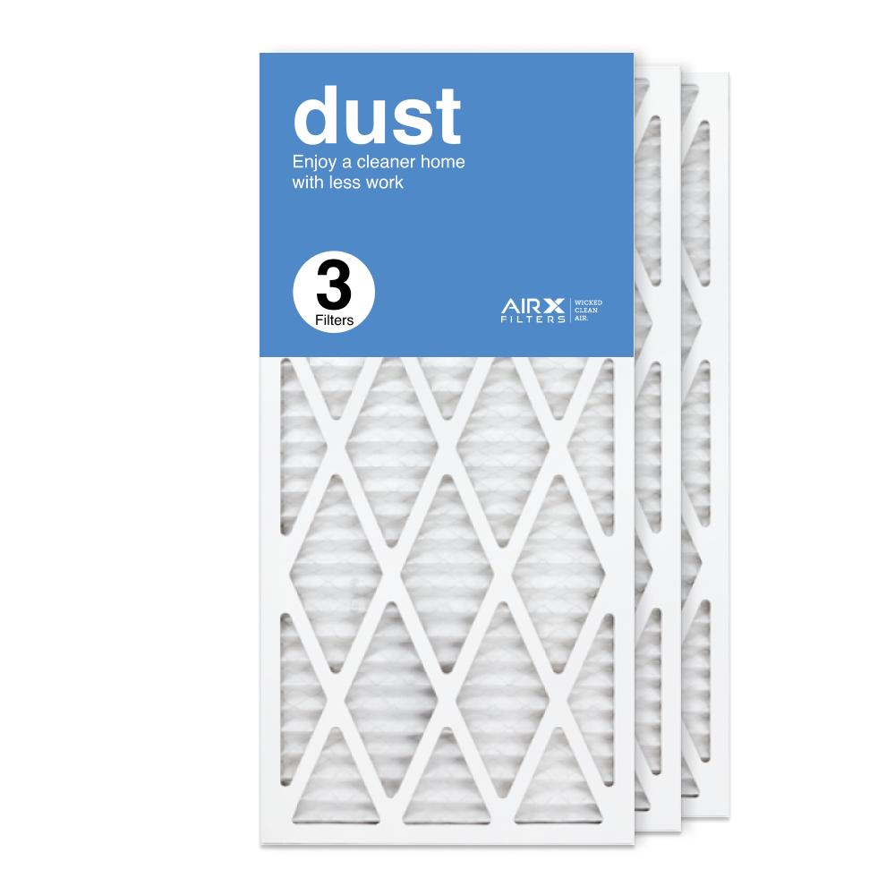 14x30x1 AIRx DUST Air Filter, 3-Pack