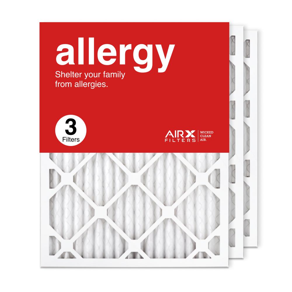 16.375x21.5x1 AIRx ALLERGY Air Filter, 3-Pack